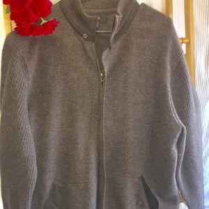 Tasso Elba 100% lambs wool sweater XL